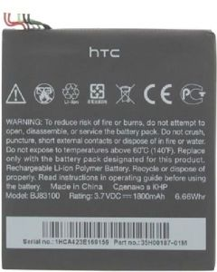 Genuine HTC One X - Battery Li-Ion-Polymer - 35H00187-00M