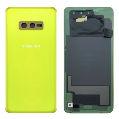 Official Samsung Galaxy S10E G970 Canary Yellow Battery Cover - GH82-18452G
