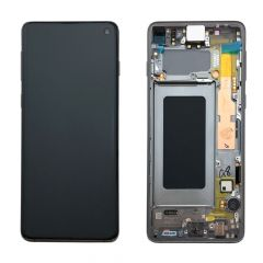 Official Samsung Galaxy S10 G973 Prism Black LCD Screen & Digitizer - GH82-18850A