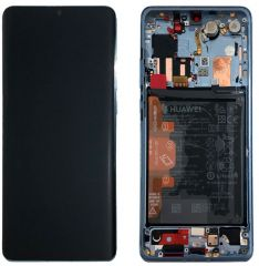 Official Huawei P30 Pro Breathing Crystal LCD Screen & Digitizer with Battery - 02352PGH