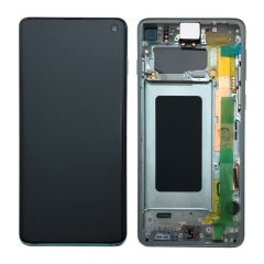 Official Samsung Galaxy S10 G973 Prism Green LCD Screen & Digitizer - GH82-18850E