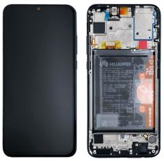 Official Huawei P Smart 2019 Black LCD Screen & Digitizer -02352JEY